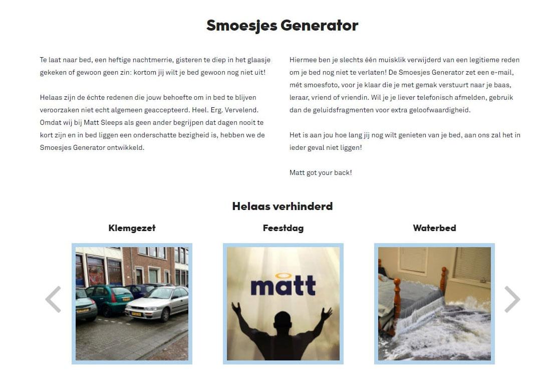 De Smoesjes Generator